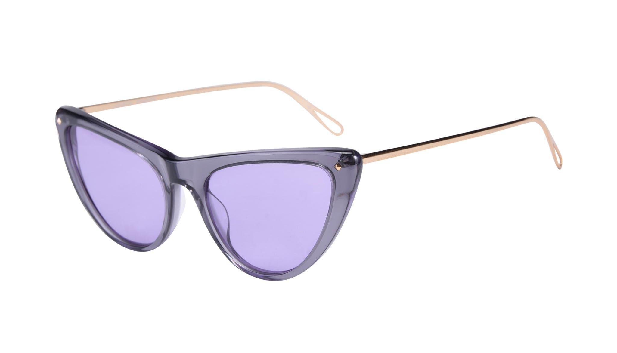 Affordable Fashion Glasses Cat Eye Sunglasses Women Celeste Shadow Tilt