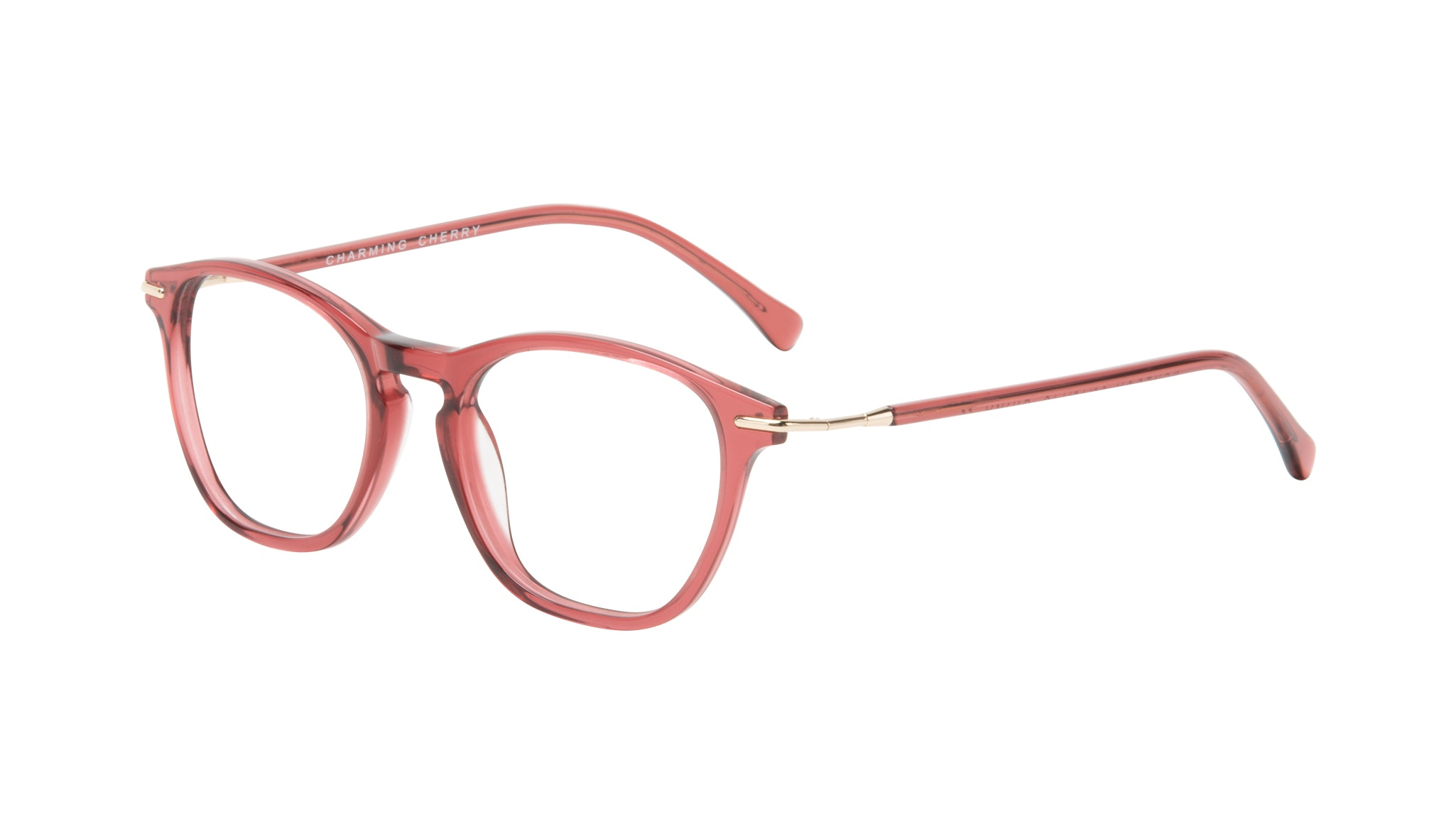 Affordable Fashion Glasses Square Eyeglasses Women Charming Cherry Tilt