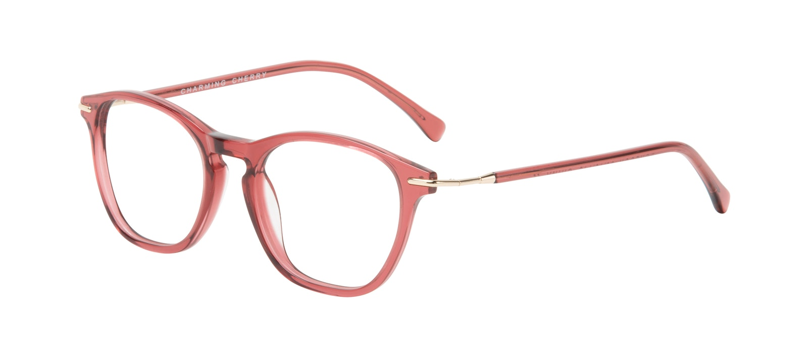 Affordable Fashion Glasses Square Eyeglasses Women Charming Cherry Tilt