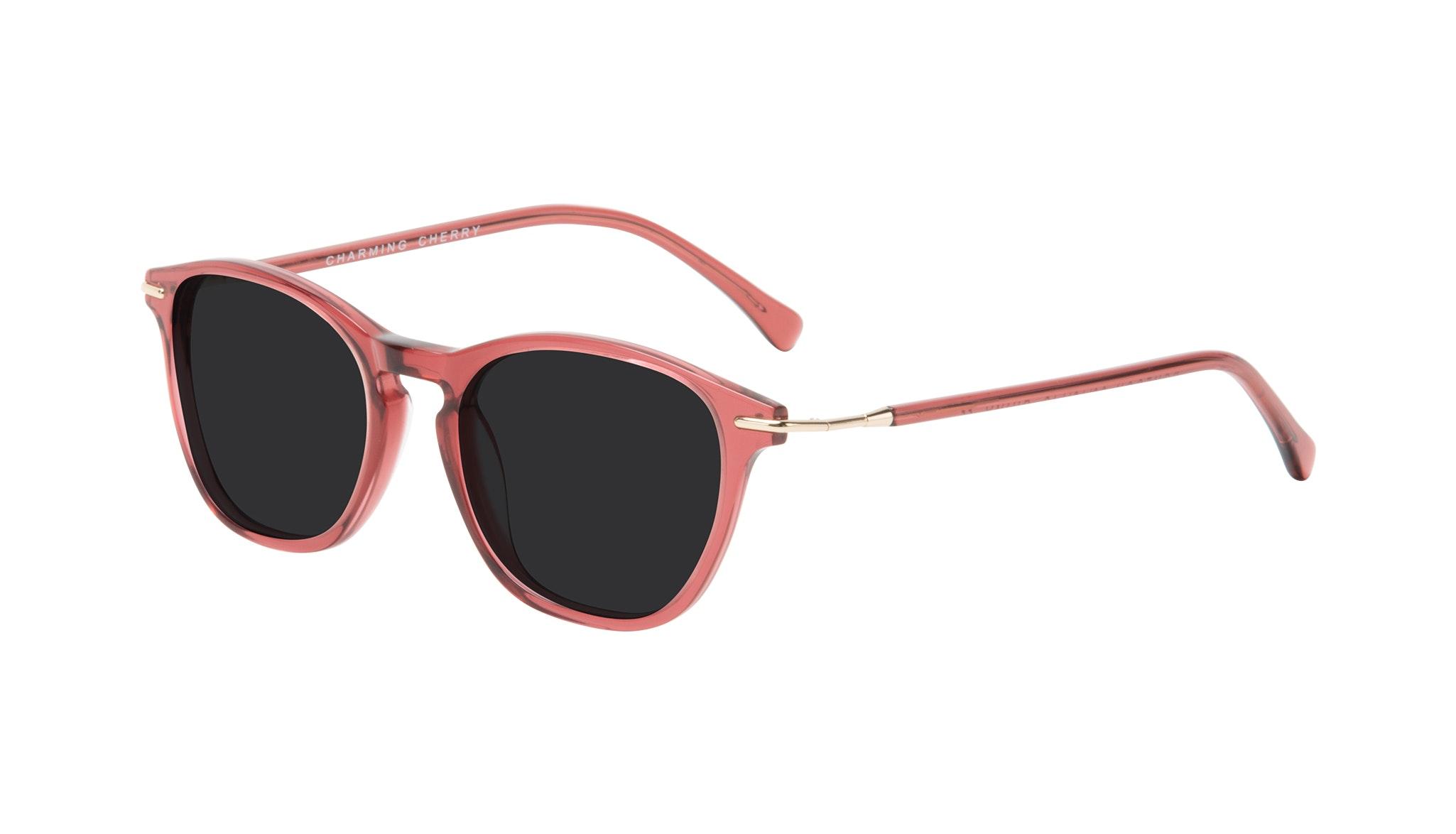 Affordable Fashion Glasses Square Sunglasses Women Charming Cherry Tilt
