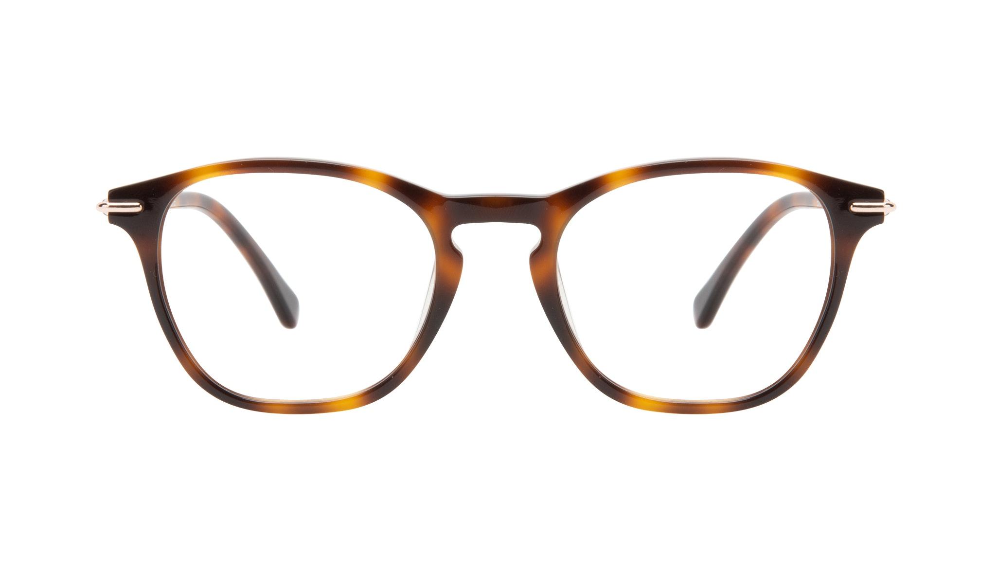 Affordable Fashion Glasses Square Eyeglasses Women Charming Tortoise Front