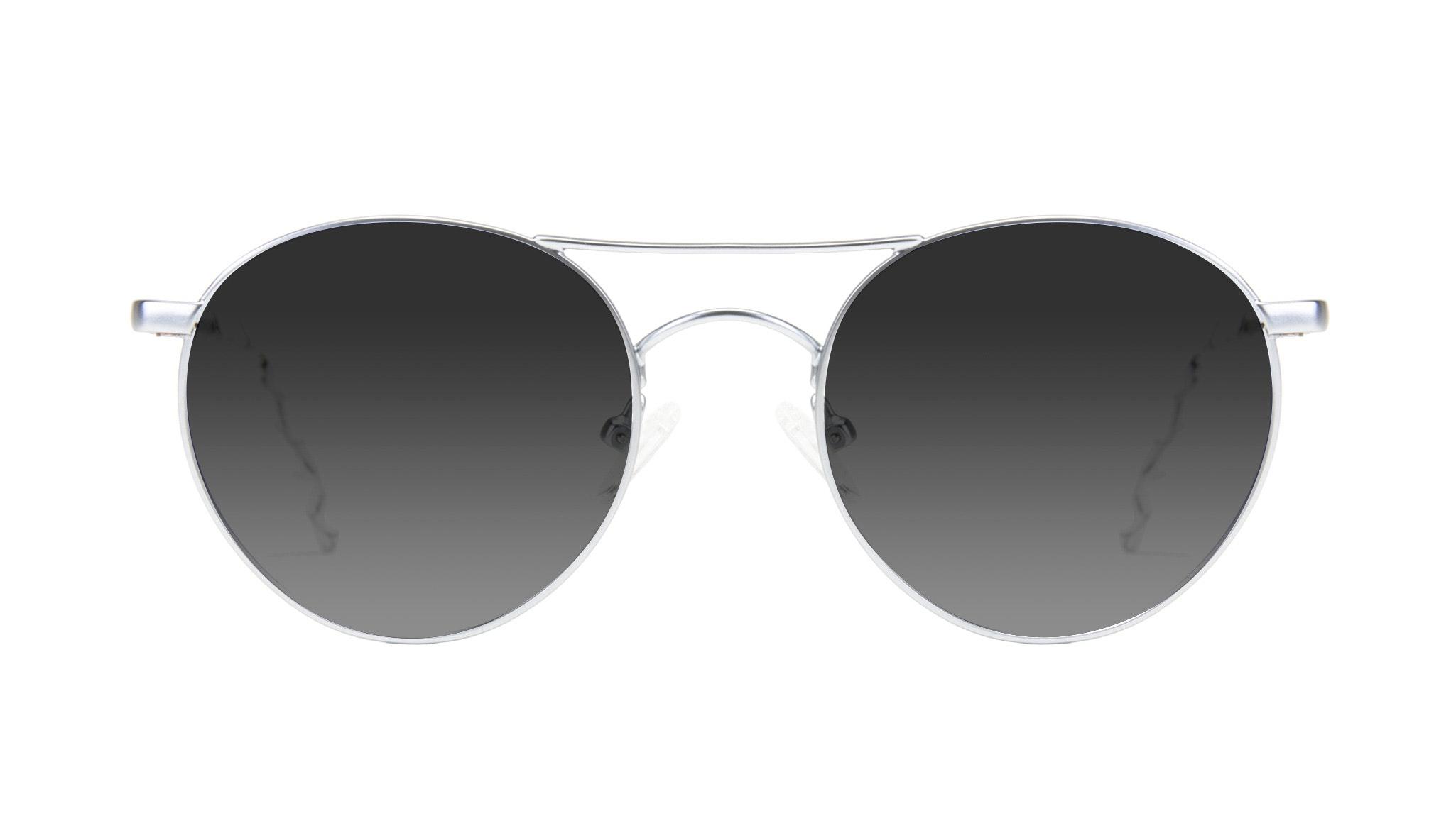 Affordable Fashion Glasses Aviator Round Sunglasses Women Chelsea Light Marble