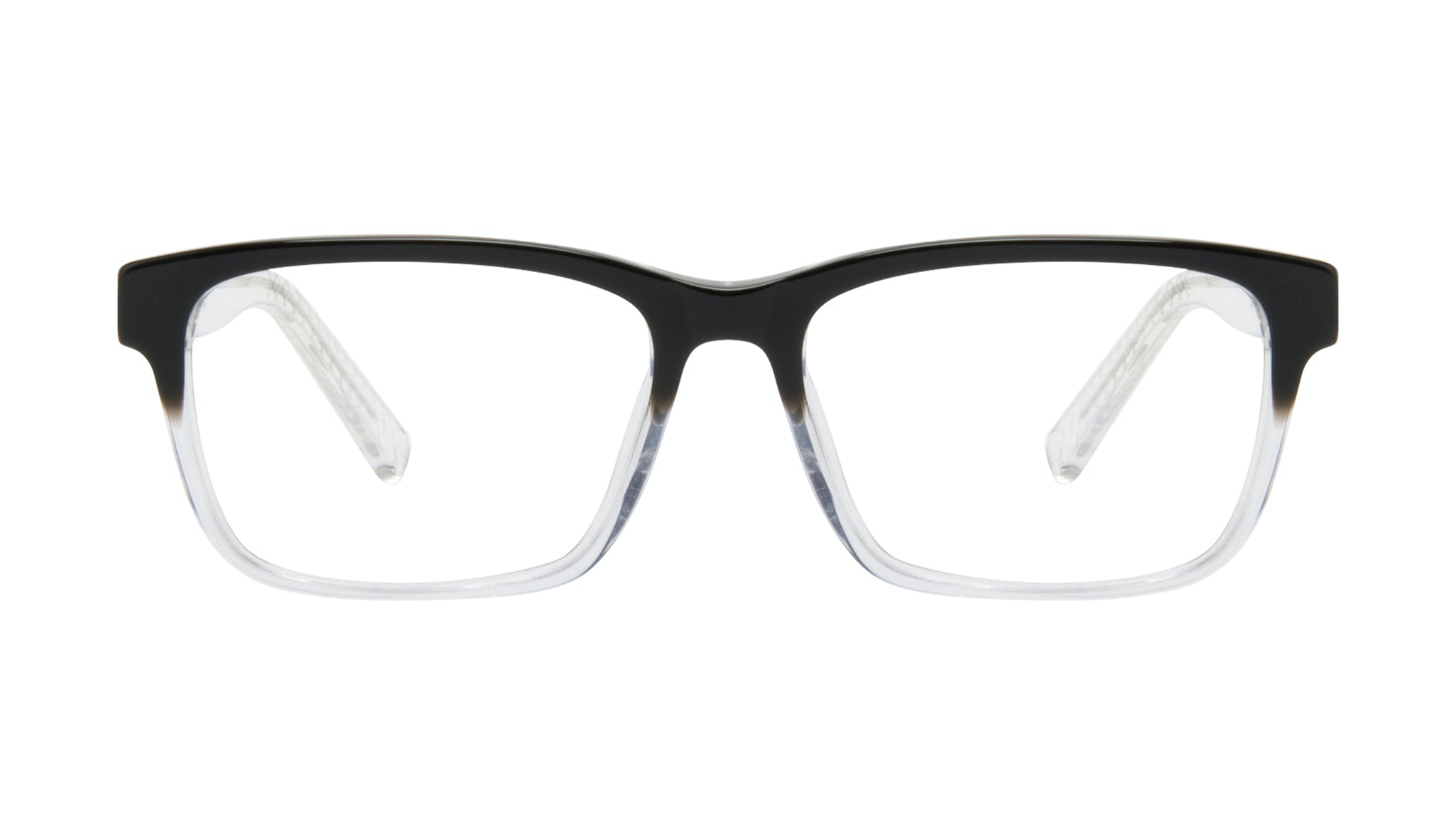 Affordable Fashion Glasses Square Eyeglasses Men Chief Onyx Clear Front