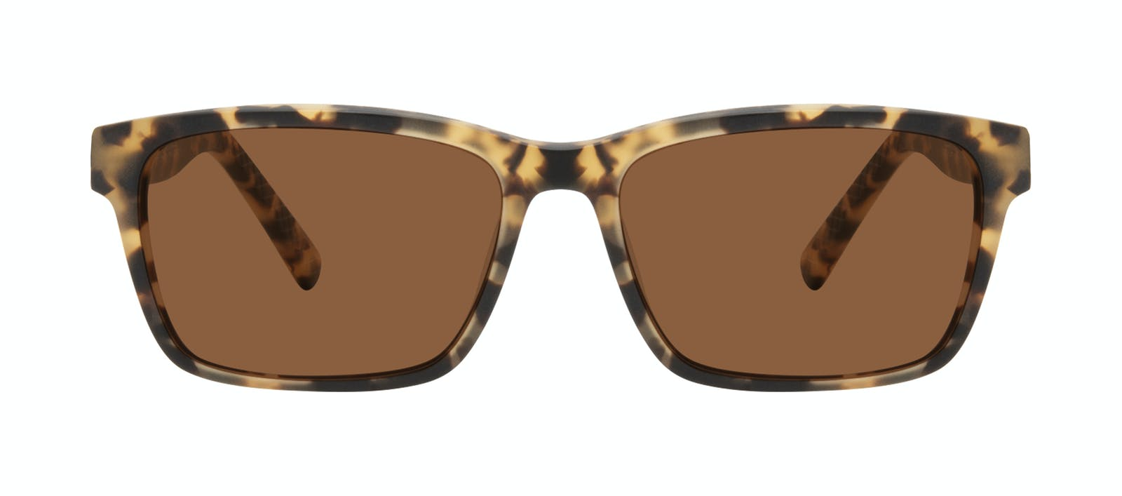 24f11cfa8d Affordable Fashion Glasses Square Sunglasses Men Chief Tortoise Matte Front