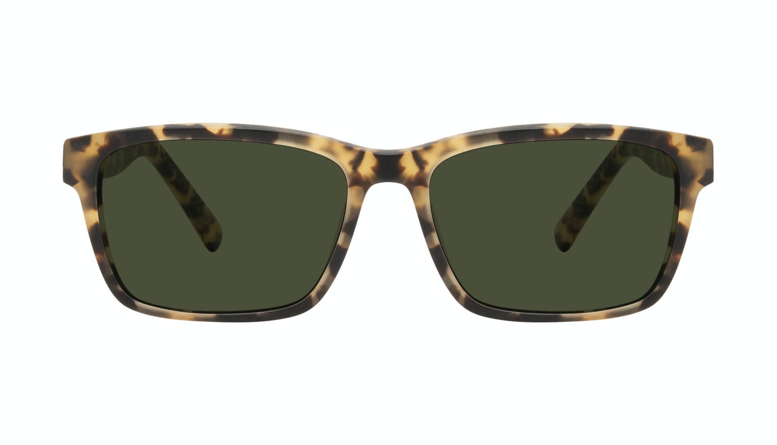 Affordable Fashion Glasses Square Sunglasses Men Chief Tortoise Matte