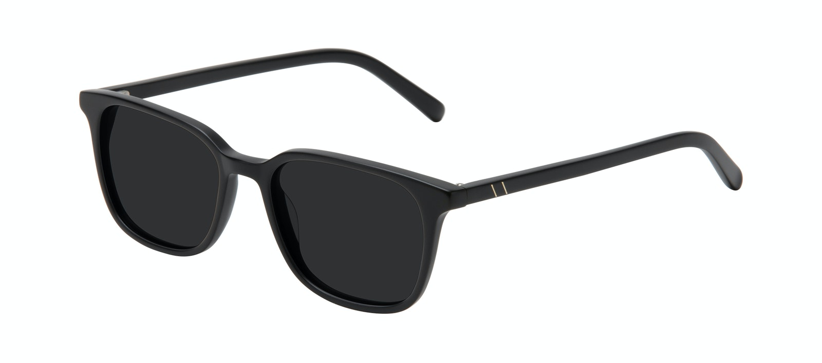 Affordable Fashion Glasses Square Sunglasses Men Choice Black Matte Tilt