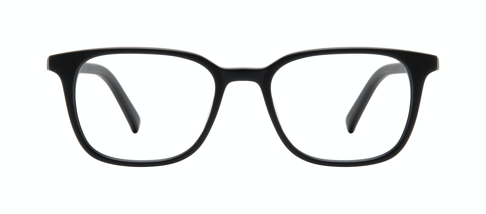 Affordable Fashion Glasses Square Eyeglasses Men Choice Black Matte Front