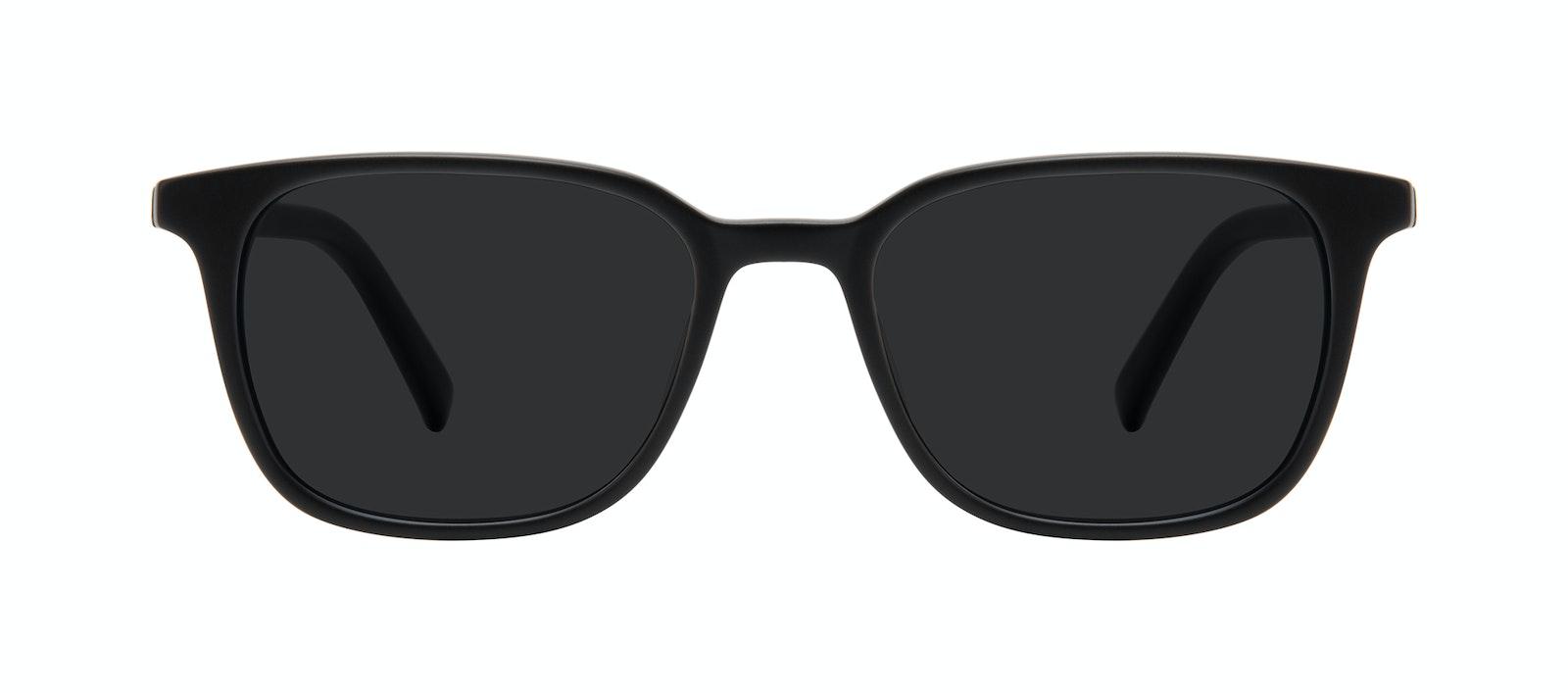 Affordable Fashion Glasses Square Sunglasses Men Choice Black Matte Front