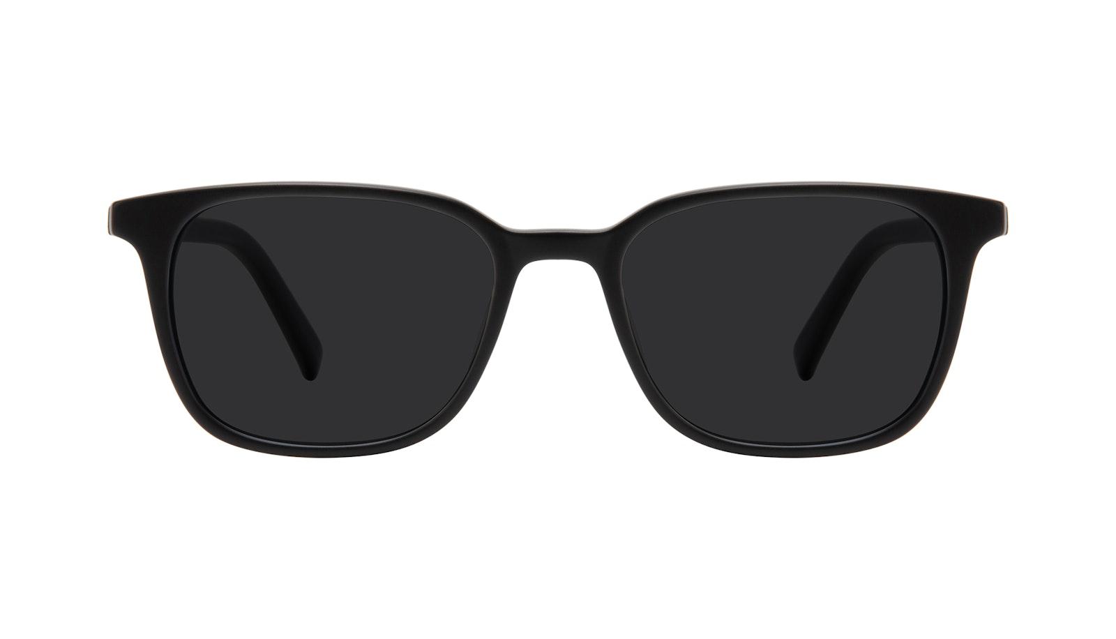 Lunettes tendance Carrée Lunettes de soleil Hommes Choice Black Matte