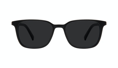 Affordable Fashion Glasses Square Sunglasses Men Choice Black Matte Front