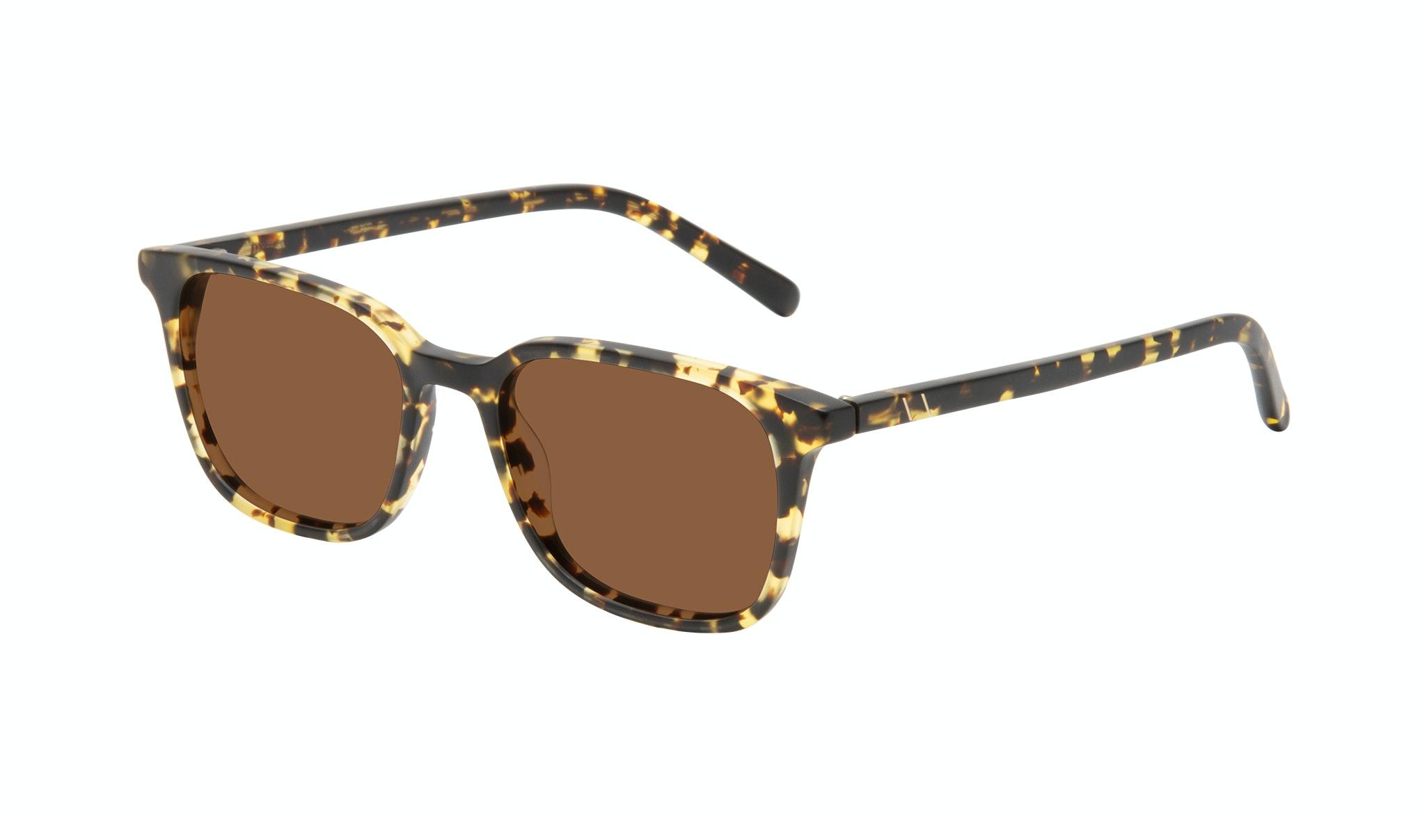 Affordable Fashion Glasses Square Sunglasses Men Choice Tortoise Matte Tilt