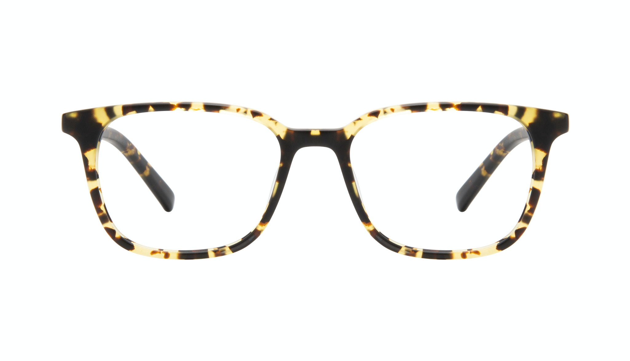 Affordable Fashion Glasses Square Eyeglasses Men Choice Tortoise Matte Front