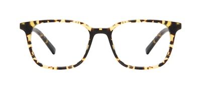 Affordable Fashion Glasses Square Eyeglasses Men Choice Tortoise Matte Front