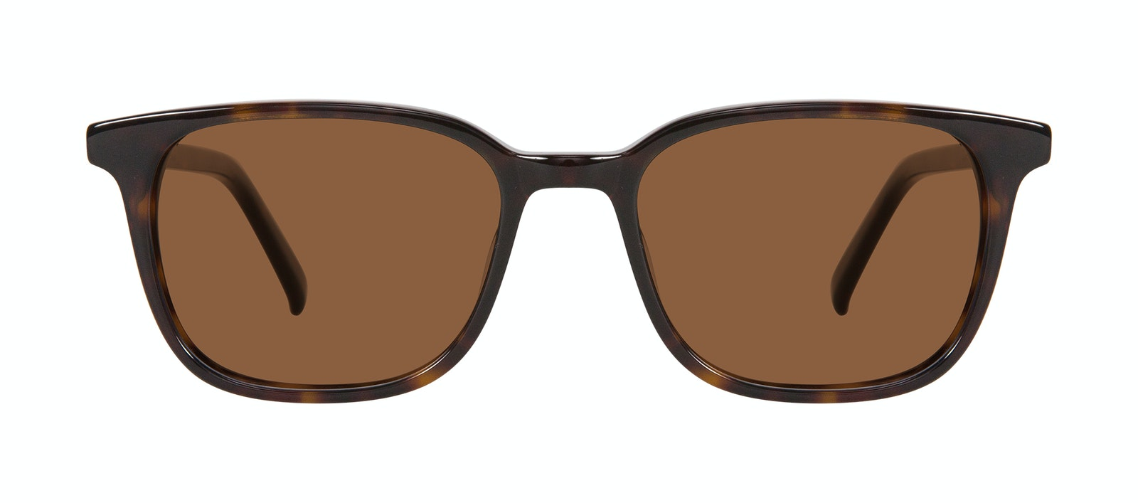 Affordable Fashion Glasses Square Sunglasses Men Choice Tortoise Front