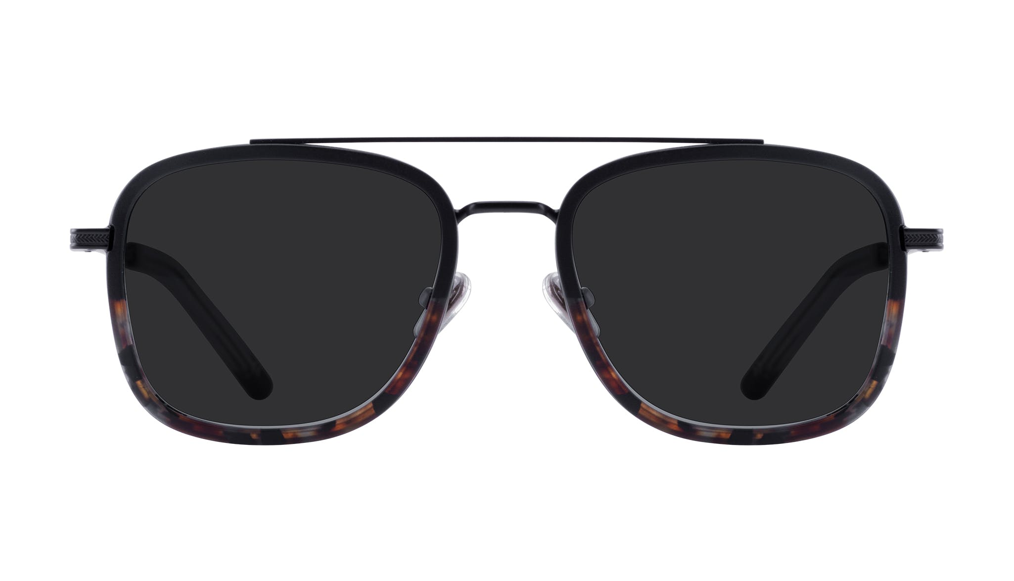 Affordable Fashion Glasses Aviator Rectangle Sunglasses Men Class Mahogany