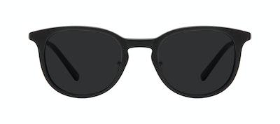 Affordable Fashion Glasses Round Sunglasses Men Coast Onyx Matte Front