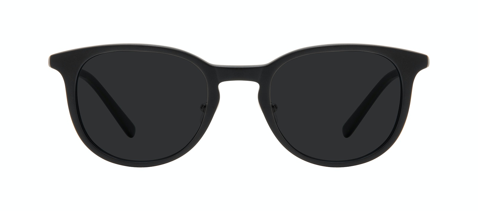 Affordable Fashion Glasses Round Sunglasses Men Coast Onyx Matte Front