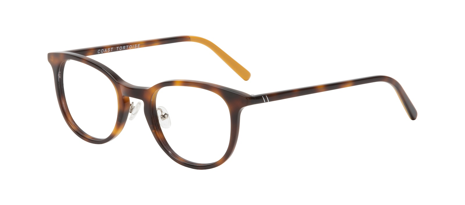 Affordable Fashion Glasses Round Eyeglasses Men Coast Tortoise Tilt