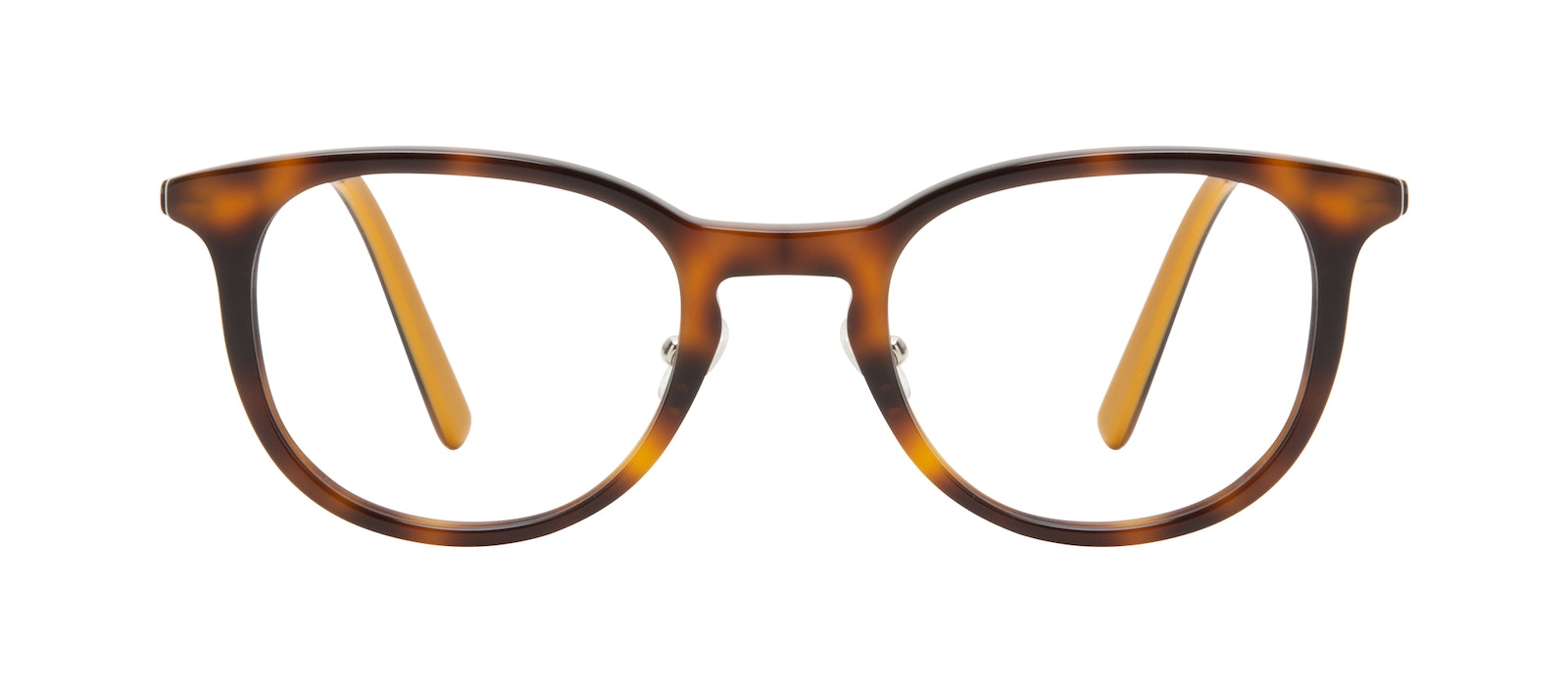 Affordable Fashion Glasses Round Eyeglasses Men Coast Tortoise Front