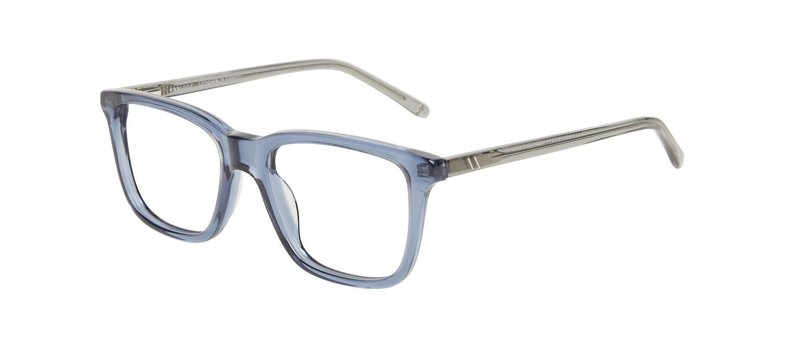 Affordable Fashion Glasses Square Eyeglasses Kids Code Junior Oxford Grey Tilt