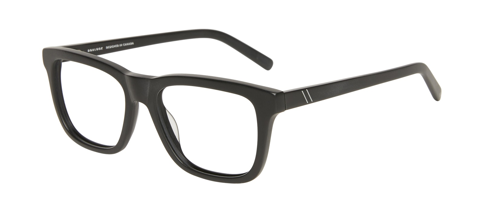 Affordable Fashion Glasses Square Eyeglasses Men Code Matte Black Tilt