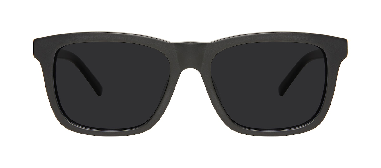 Affordable Fashion Glasses Square Sunglasses Men Code Matte Black Front