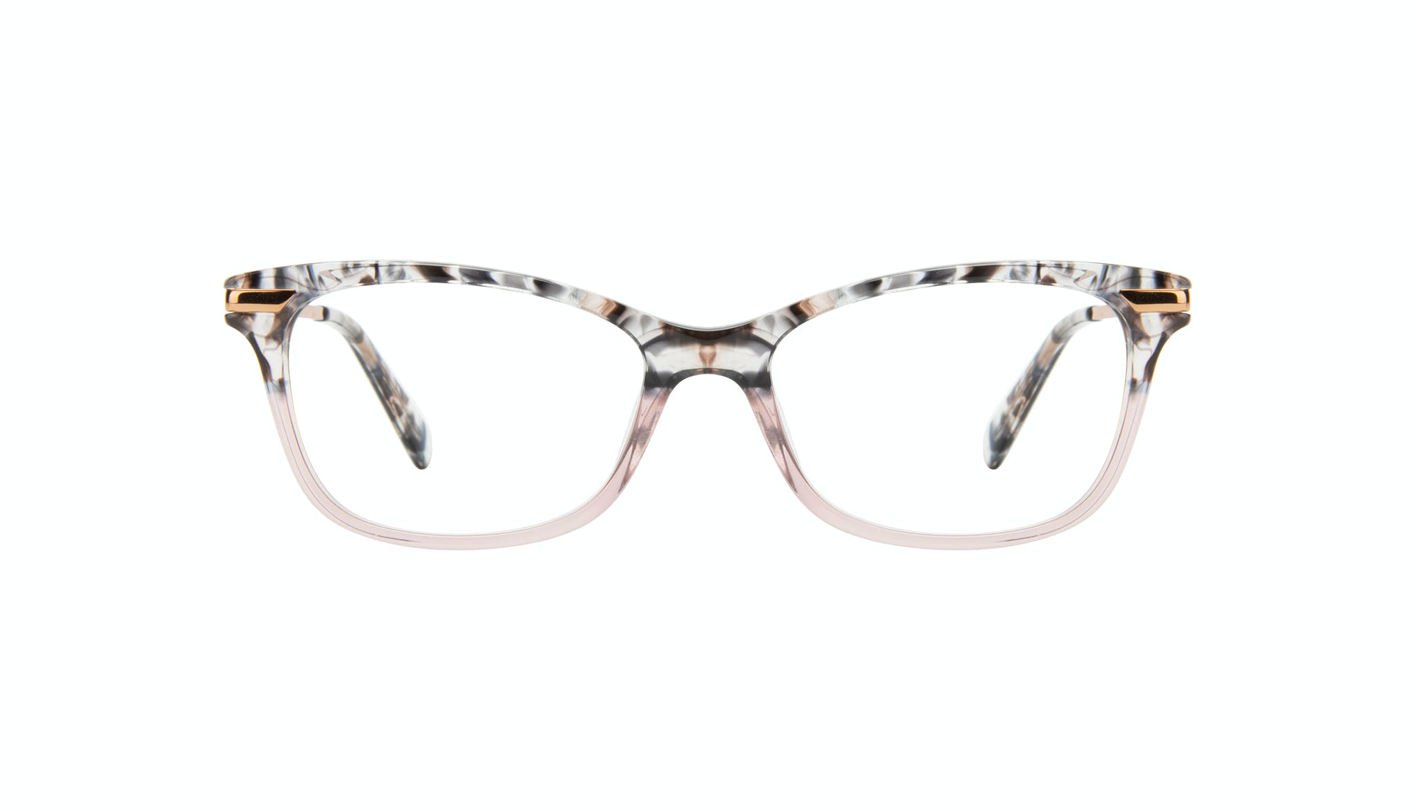 Affordable Fashion Glasses Rectangle Eyeglasses Women Comet II Carbone Pink