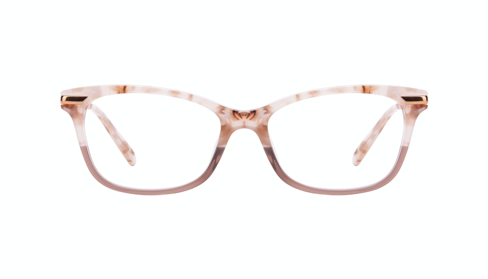 Affordable Fashion Glasses Rectangle Eyeglasses Women Comet II Frosted Sand
