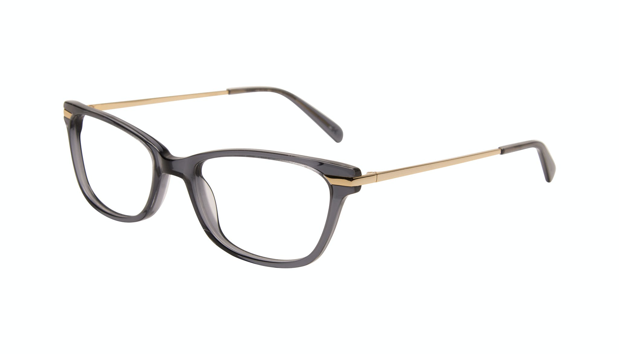Affordable Fashion Glasses Rectangle Eyeglasses Women Comet Plus Gold Shadow Tilt