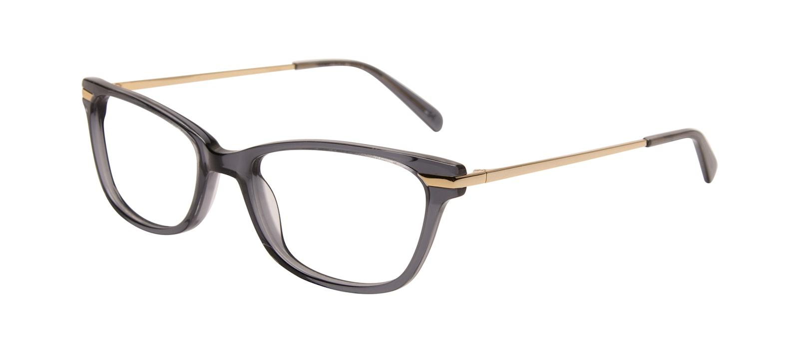 Affordable Fashion Glasses Rectangle Eyeglasses Women Comet Plus Gold Shadow Tilt
