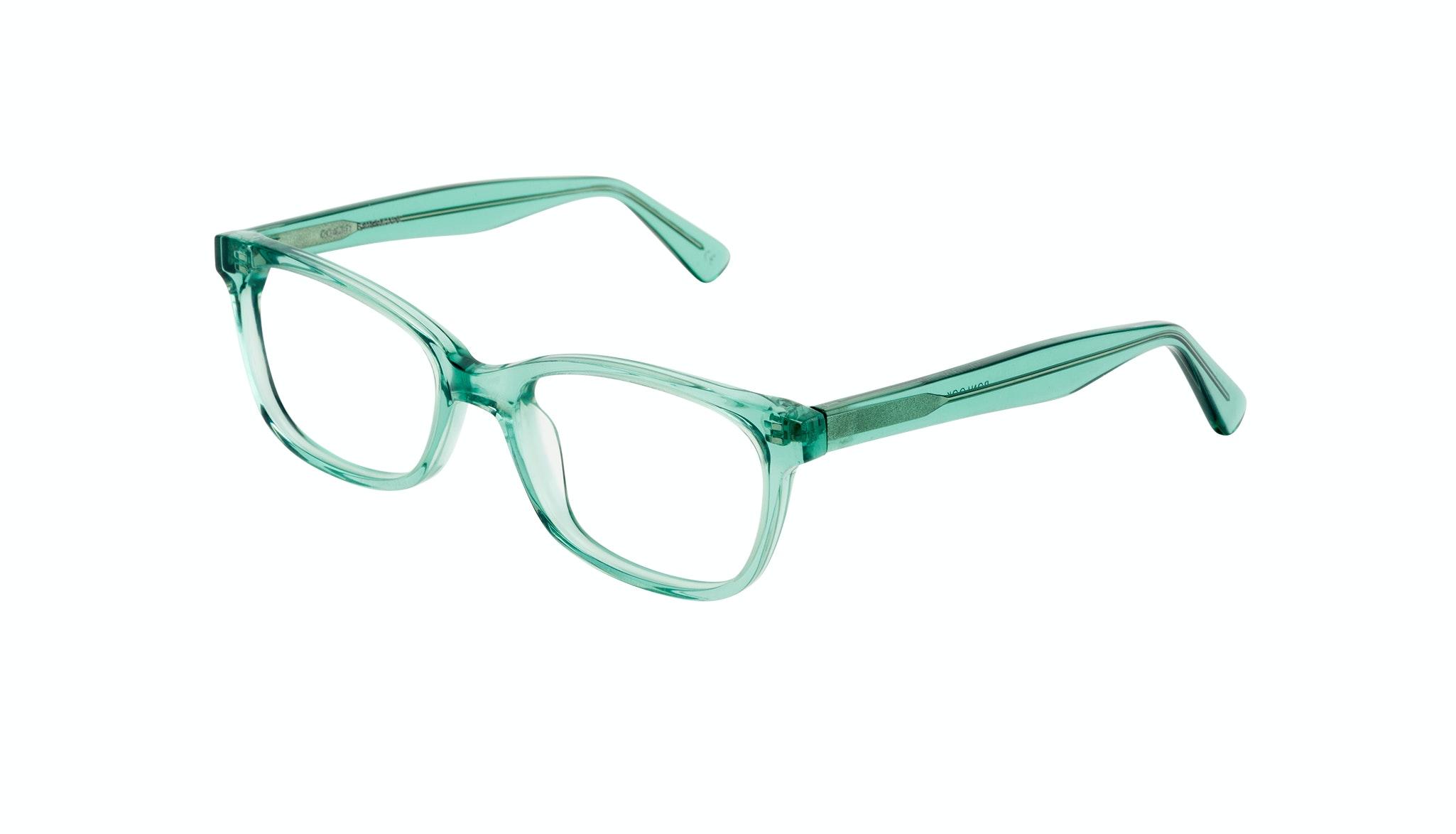Affordable Fashion Glasses Cat Eye Rectangle Square Eyeglasses Women Comet Emeraude Tilt