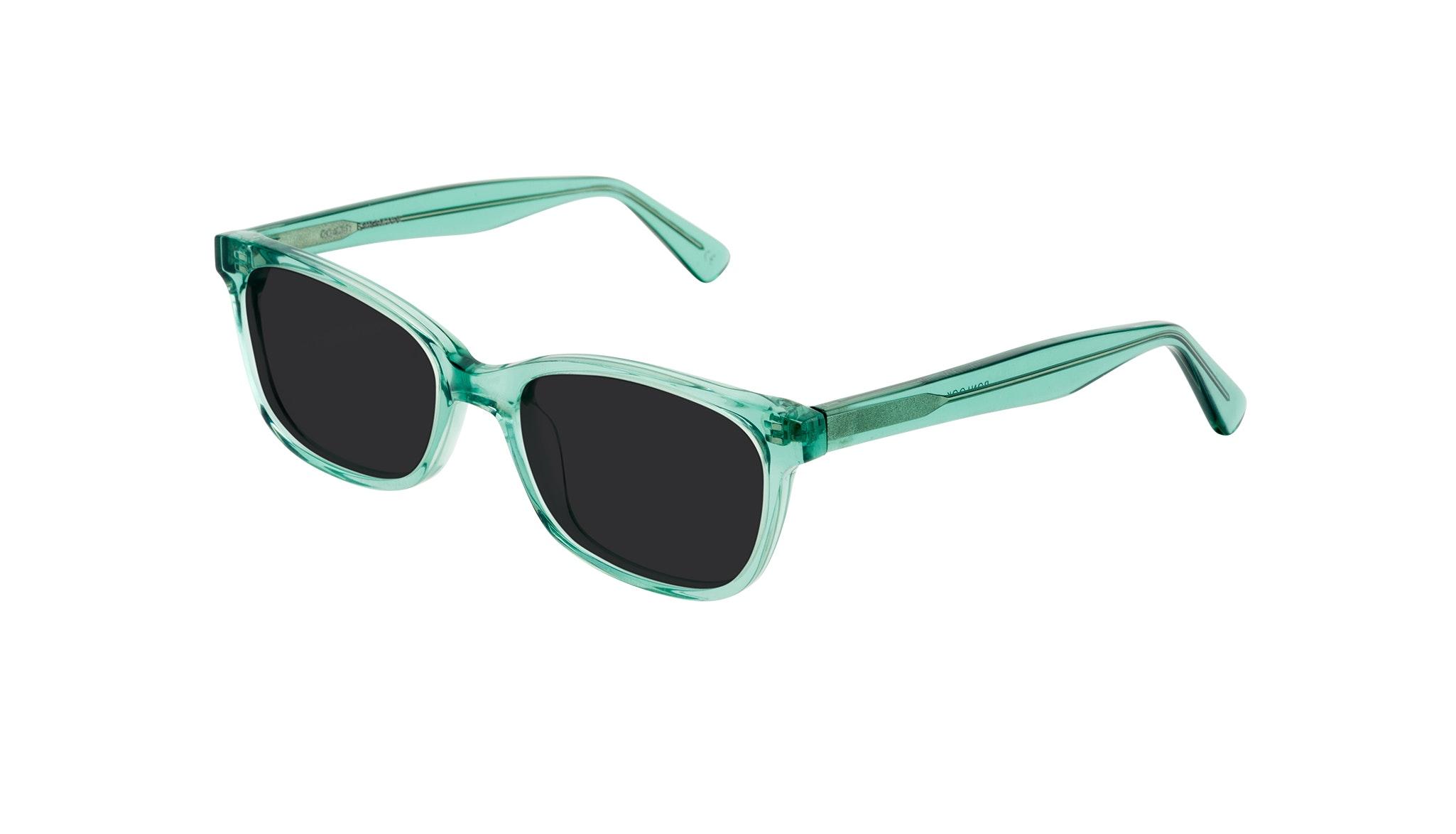 Affordable Fashion Glasses Cat Eye Rectangle Square Sunglasses Women Comet Emeraude Tilt