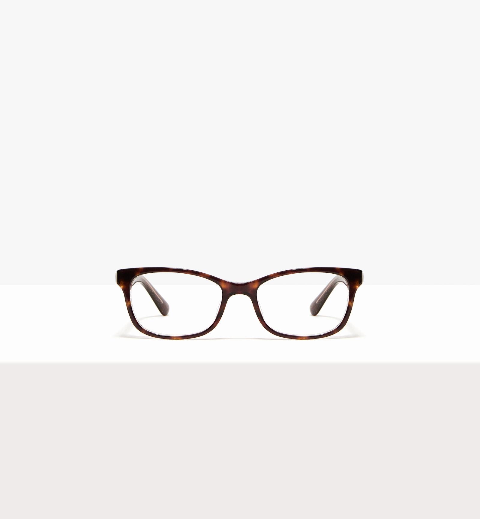 Affordable Fashion Glasses Rectangle Eyeglasses Women Comet II Hazel Stardust