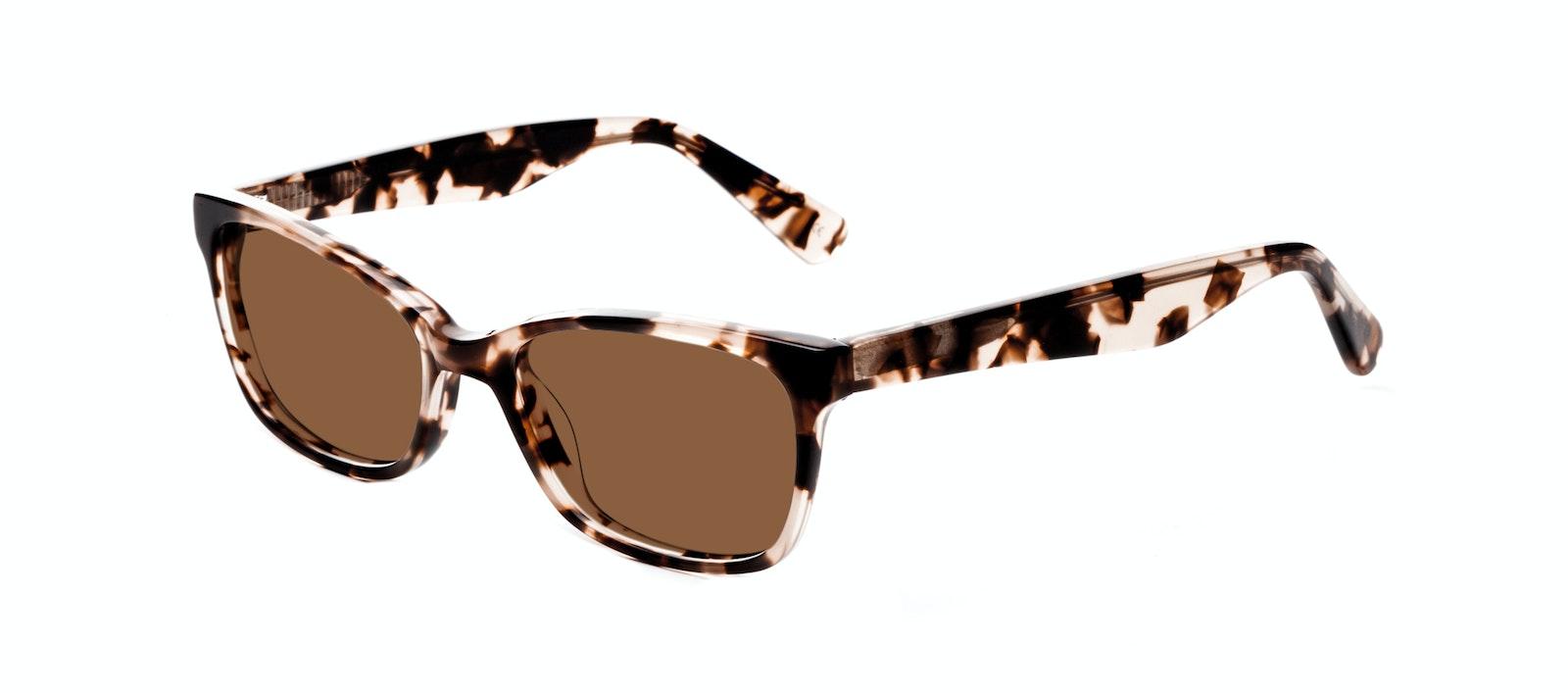 Affordable Fashion Glasses Cat Eye Rectangle Square Sunglasses Women Comet Pink Tortoise Tilt
