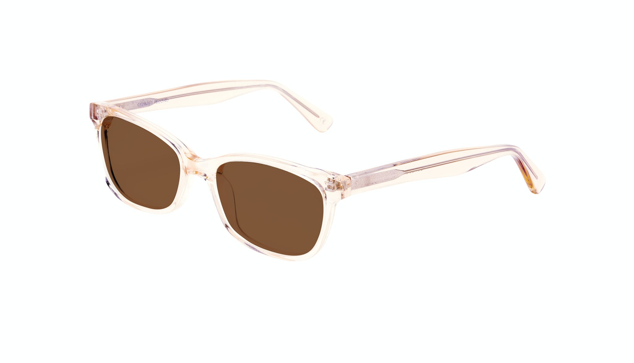 Affordable Fashion Glasses Cat Eye Rectangle Square Sunglasses Women Comet Blond Tilt