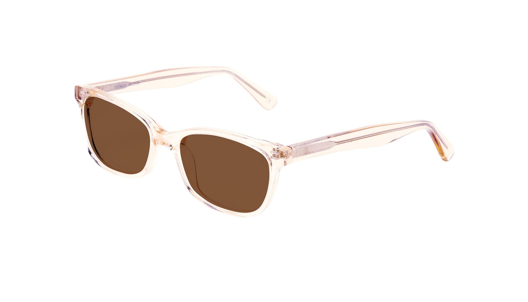 Affordable Fashion Glasses Cat Eye Rectangle Square Sunglasses Women Comet Blond Tilt
