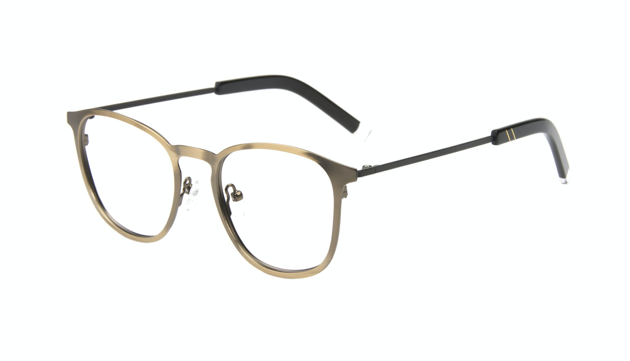 Affordable Fashion Glasses Rectangle Square Eyeglasses Men Core Mud Tilt