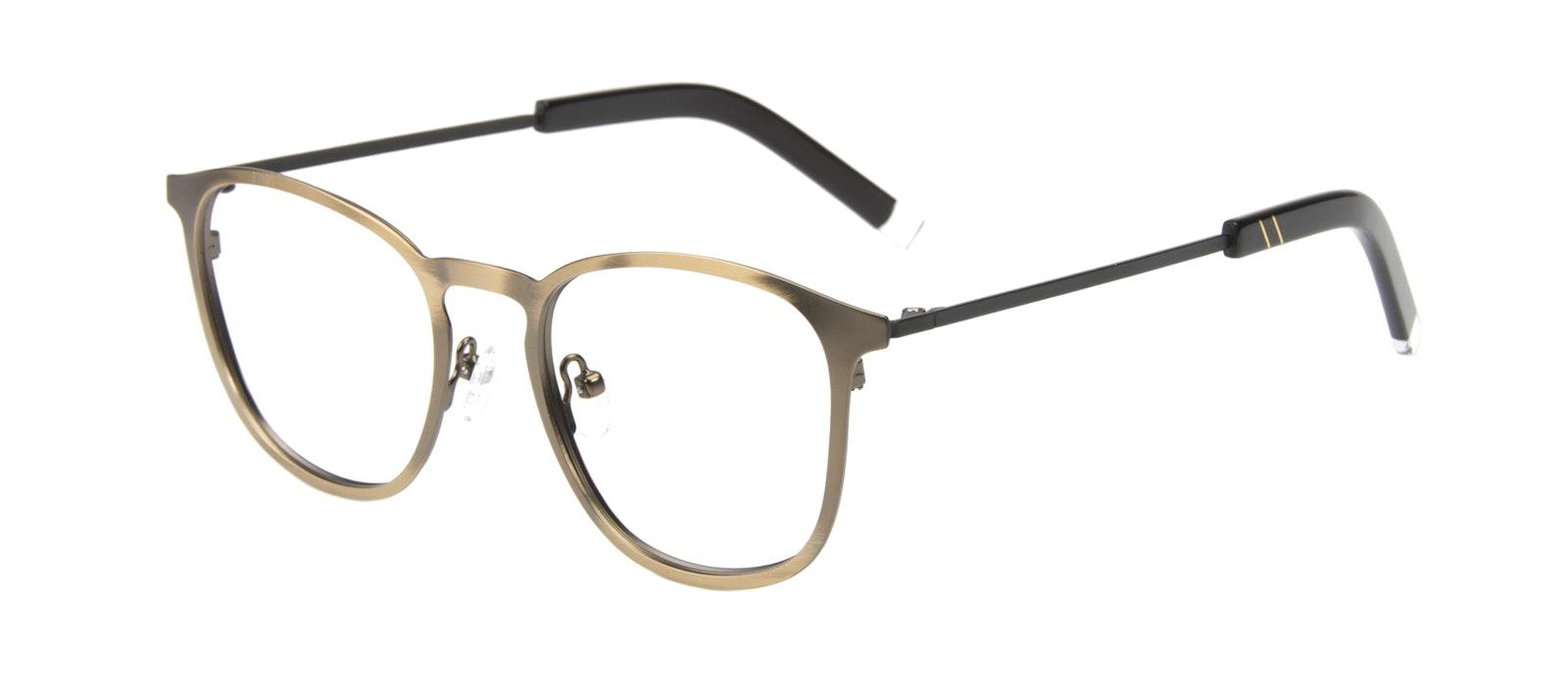 Affordable Fashion Glasses Rectangle Square Eyeglasses Men Core Mud Tilt