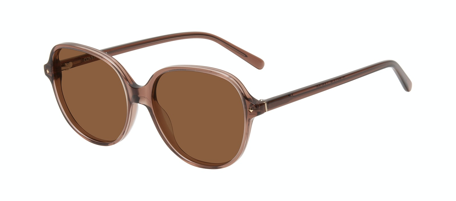 Affordable Fashion Glasses Round Sunglasses Women Covet Terra Tilt
