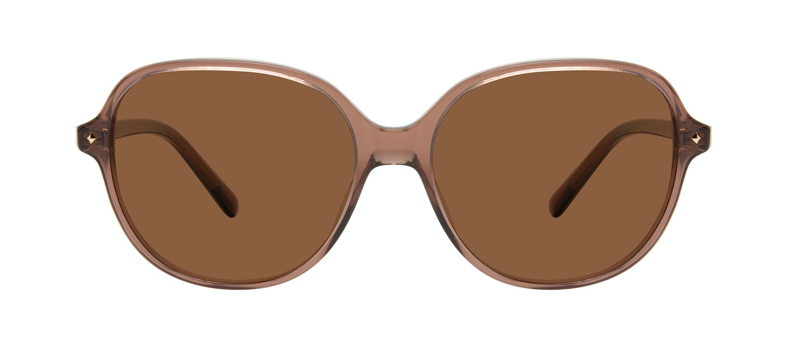 Affordable Fashion Glasses Round Sunglasses Women Covet Terra Front