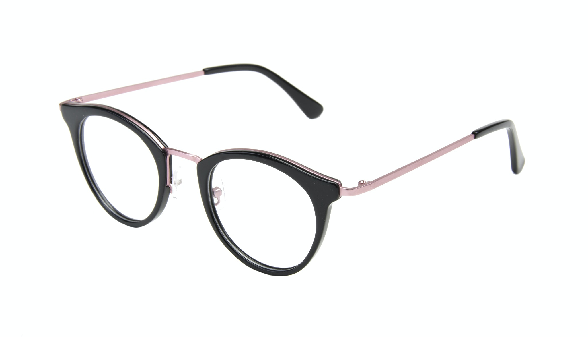 Affordable Fashion Glasses Cat Eye Round Eyeglasses Women Creature Deep Shell Tilt