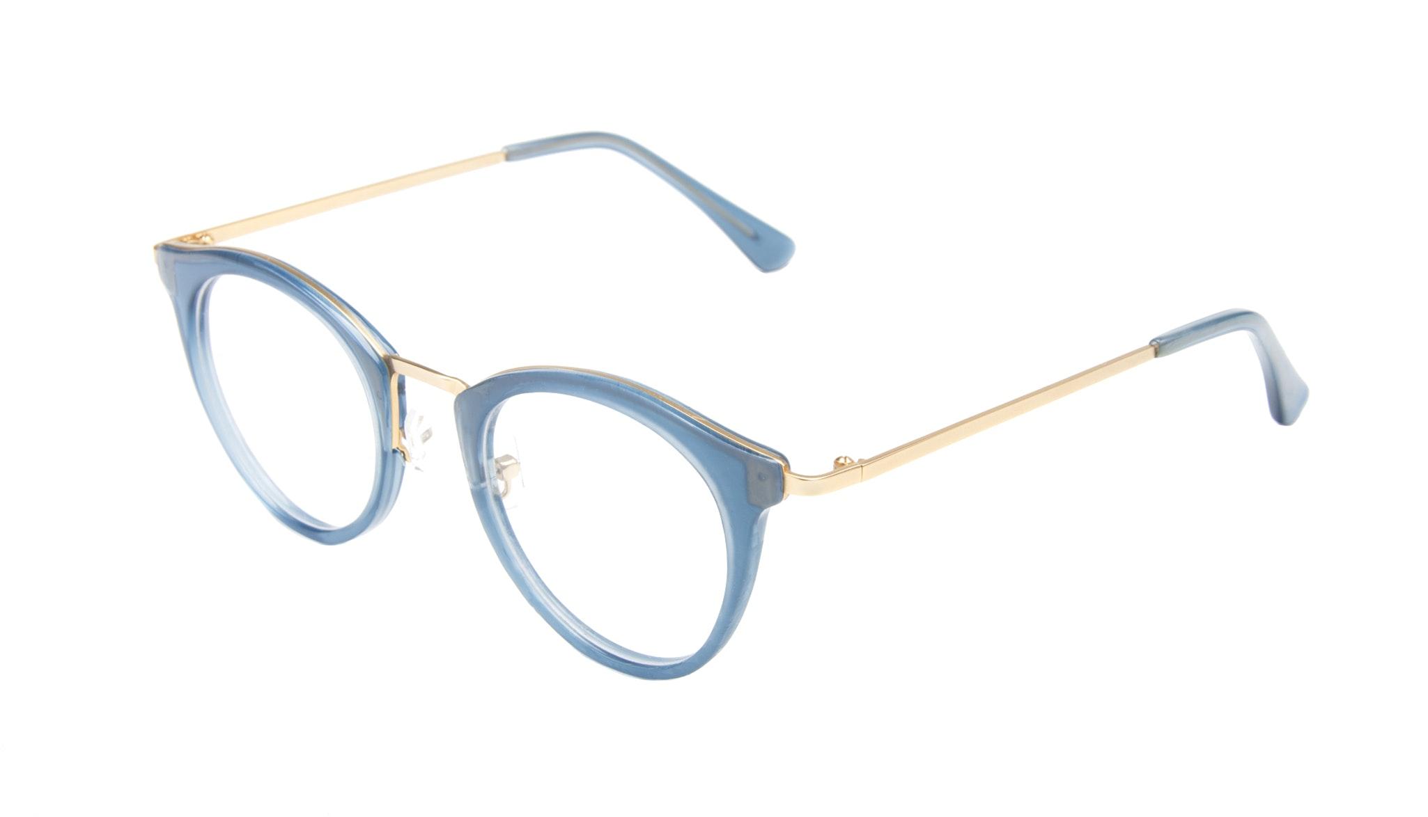 Affordable Fashion Glasses Cat Eye Round Eyeglasses Women Creature Marine Tilt