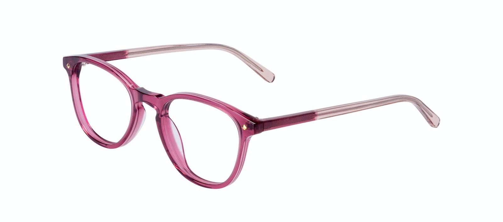 Affordable Fashion Glasses Round Eyeglasses Women Crush Berry Tilt