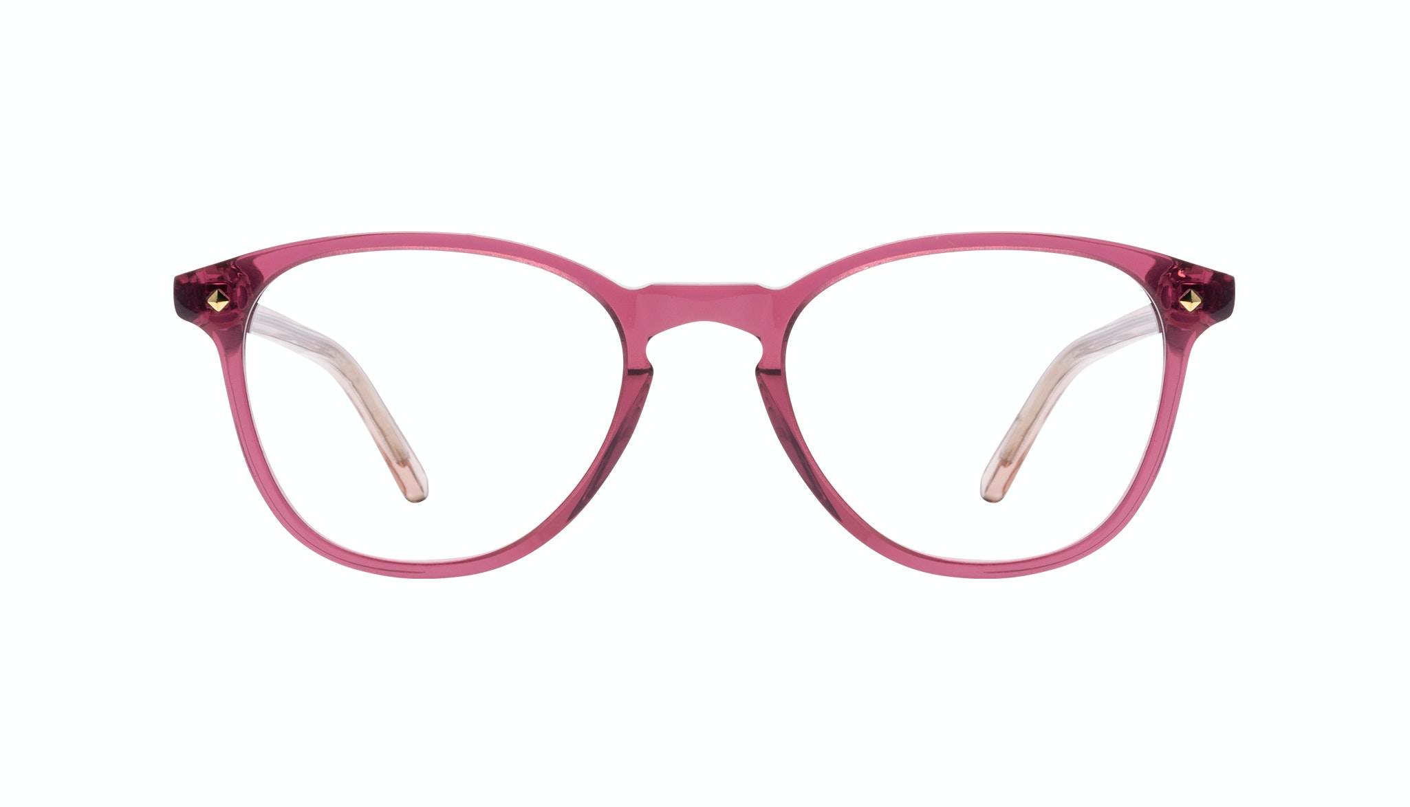 Affordable Fashion Glasses Round Eyeglasses Women Crush Berry Front