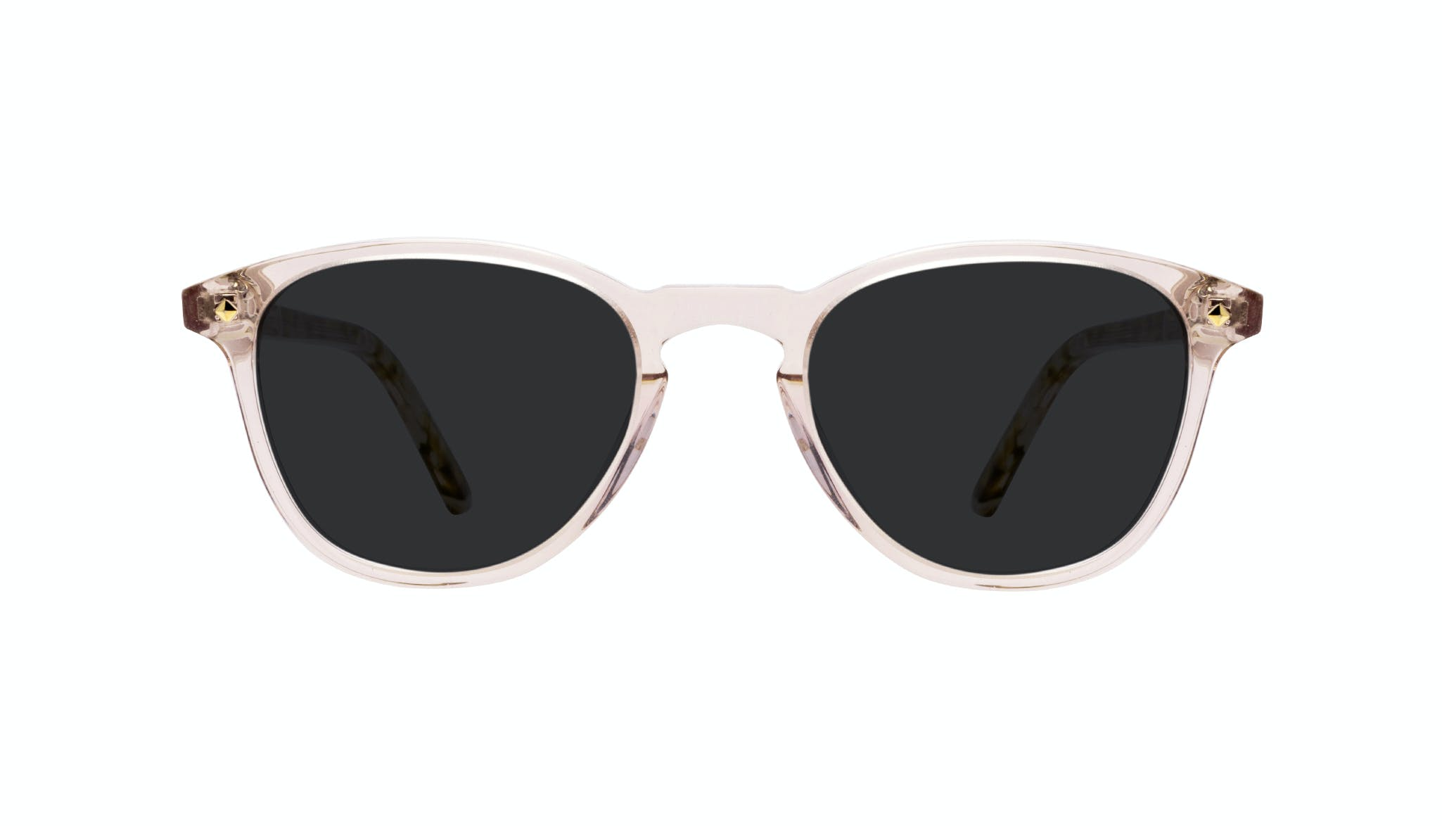 Affordable Fashion Glasses Round Sunglasses Women Crush Rose Front