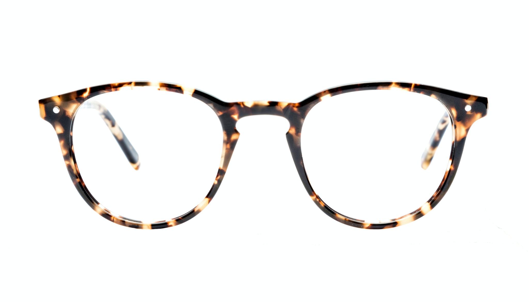 Affordable Fashion Glasses Round Eyeglasses Men Cult Dark Tortoise Front