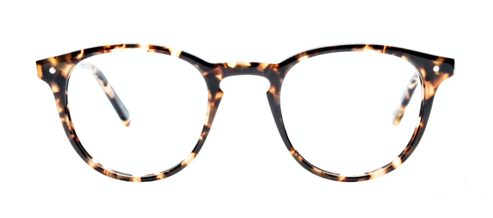 Affordable Fashion Glasses Round Eyeglasses Men Cult Dark Tortoise Front