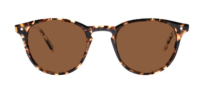 Affordable Fashion Glasses Round Sunglasses Men Cult Dark Tortoise Front