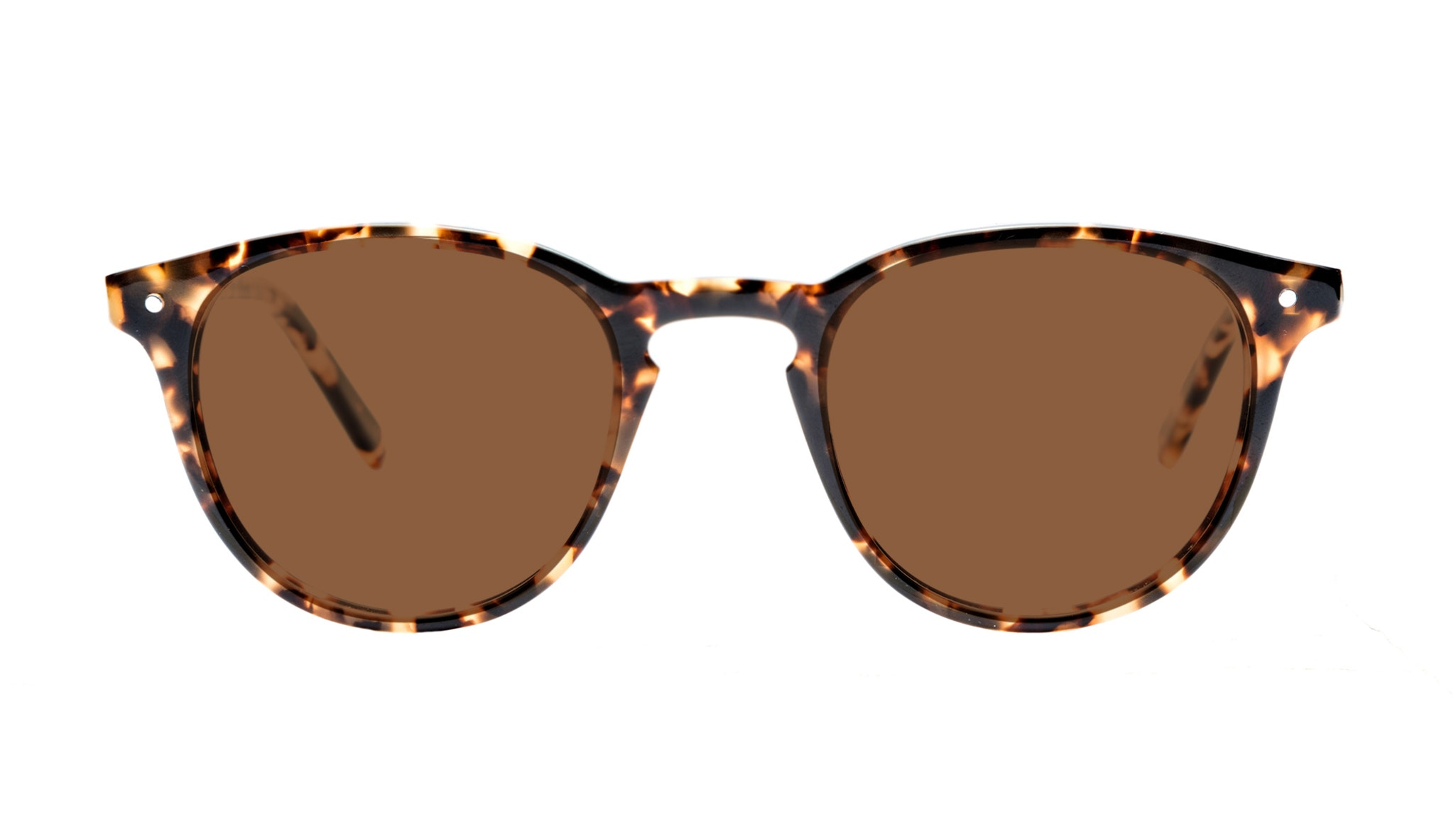 Affordable Fashion Glasses Round Sunglasses Men Cult Dark Tortoise