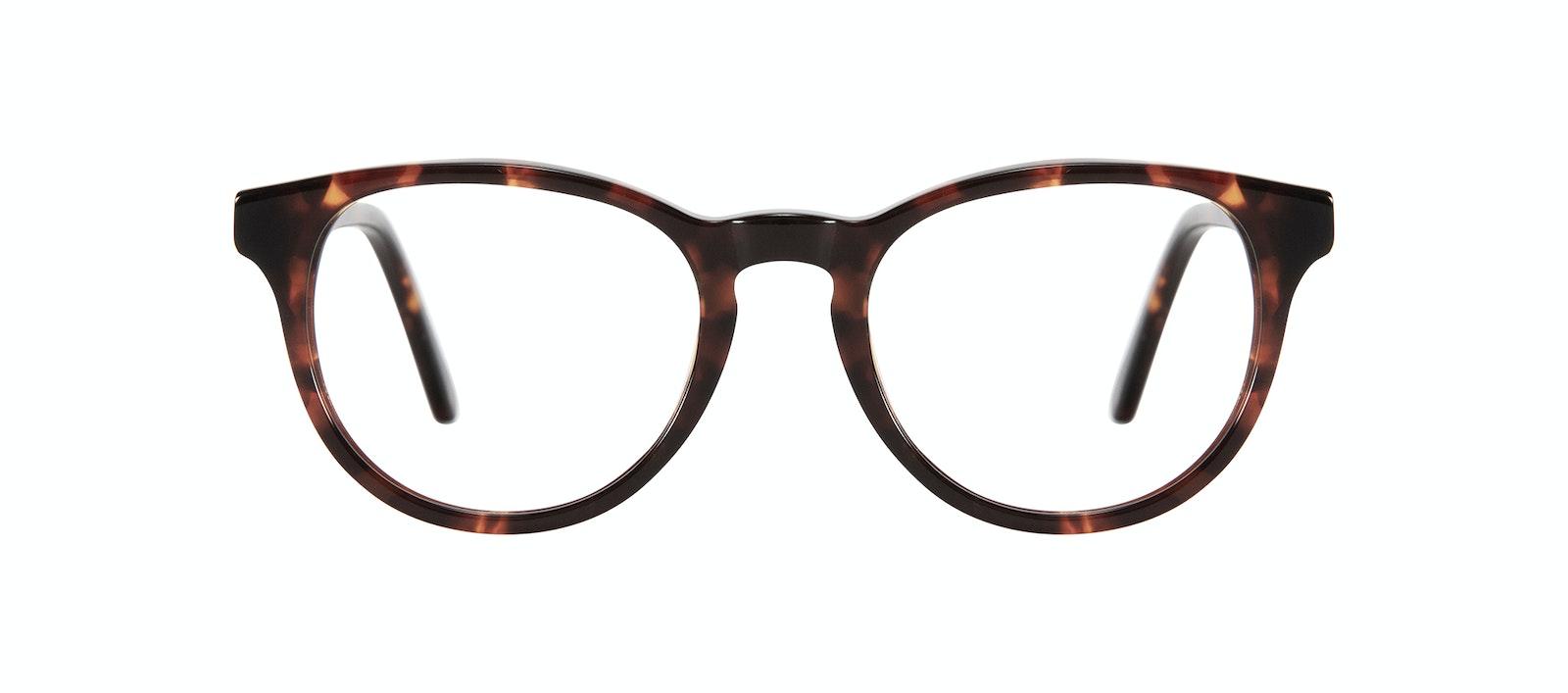 Affordable Fashion Glasses Round Eyeglasses Kids Cult Junior Sepia Kiss Front